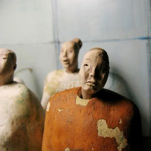 Standing People, 22- 24 cm