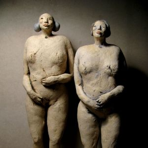 Two nude Women, 33- 34 cm