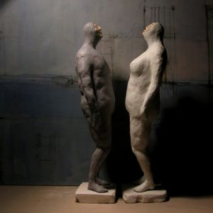 Divers, couple, 31,5 cm