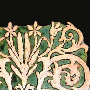 Decorative form, wall decoration